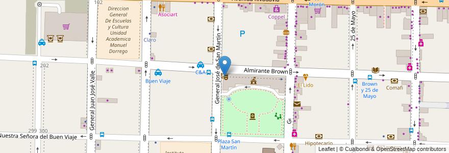 Mapa de ubicacion de Teatro Municipal Gregorio de Laferrere en Argentina, Buenos Aires, Partido De Morón, Morón.