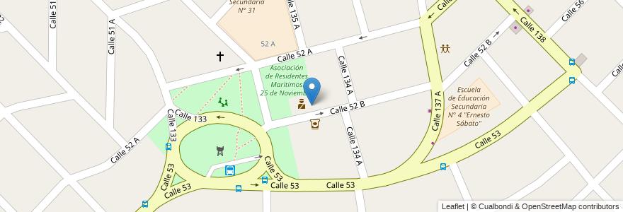 Mapa de ubicacion de Unidad Sanitaria N° 36 en Argentina, Buenos Aires, Partido De Berazategui, Hudson.