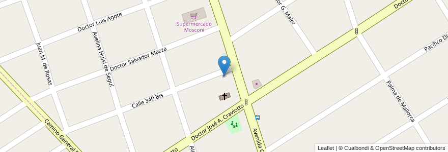 Mapa de ubicacion de VB Gestoría Integral en Argentina, Buenos Aires, Partido De Quilmes, Quilmes.
