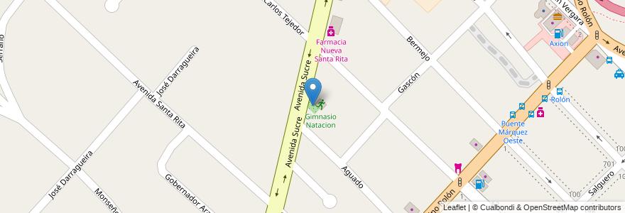 Mapa de ubicacion de Vivero en Argentina, Buenos Aires, Partido De San Isidro, Boulogne Sur Mer.